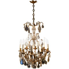 Stunning Large French Eight-Branch Chandelier