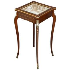 French Rosewood Bijouterie Table