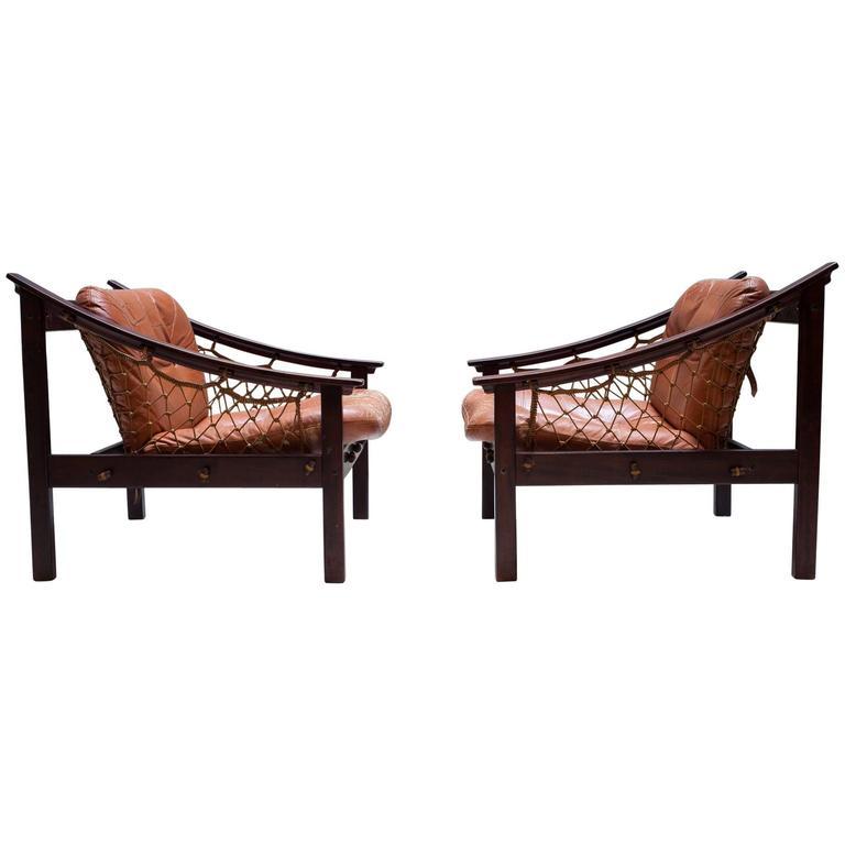 Vintage Amazonas Armchair by Jean Gillon 1