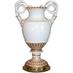 Meissen Neoclassical Style Porcelain Vase, circa 1870