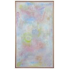 "84"" Robert Natkin Intimate Lighting Series 1970s Painting"