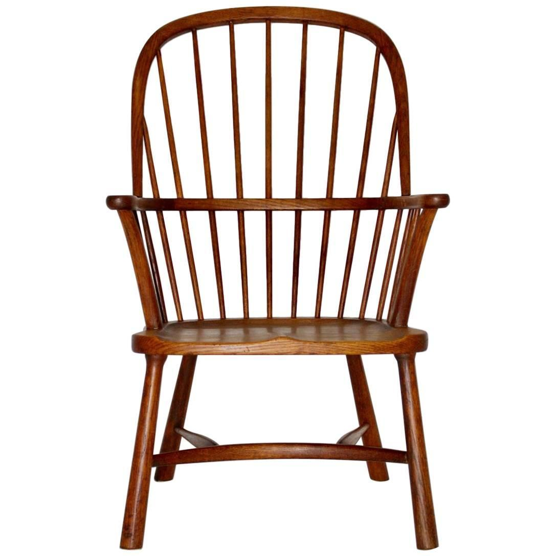 Art Deco Windsor Chair by Walter Sobotka Circle of Josef Frank, Vienna, 1932 - Antique And Vintage Windsor Chairs - 144 For Sale At 1stdibs