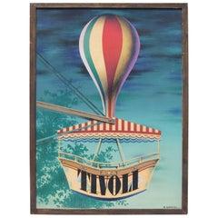 Ib Andersen, Tivoli, Silkscreen Poster