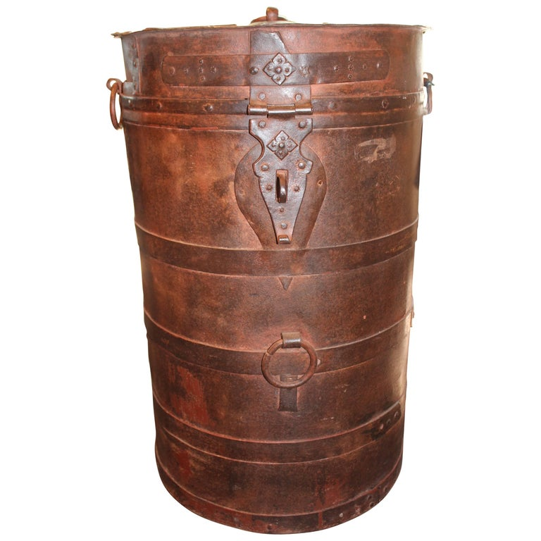 Anglo Colonial Metal Storage Bin