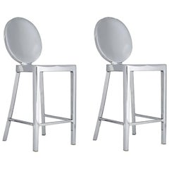 Pair of Two Kong Bar Stools by Philippe Starck for Emeco, USA