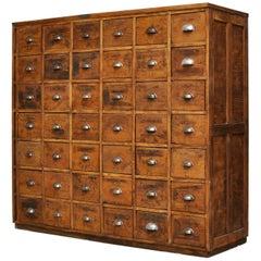 Industrial Wood Tool Cabinet