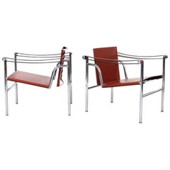 Pair of Le Corbusier LC1 Lounge Chairs for Cassina