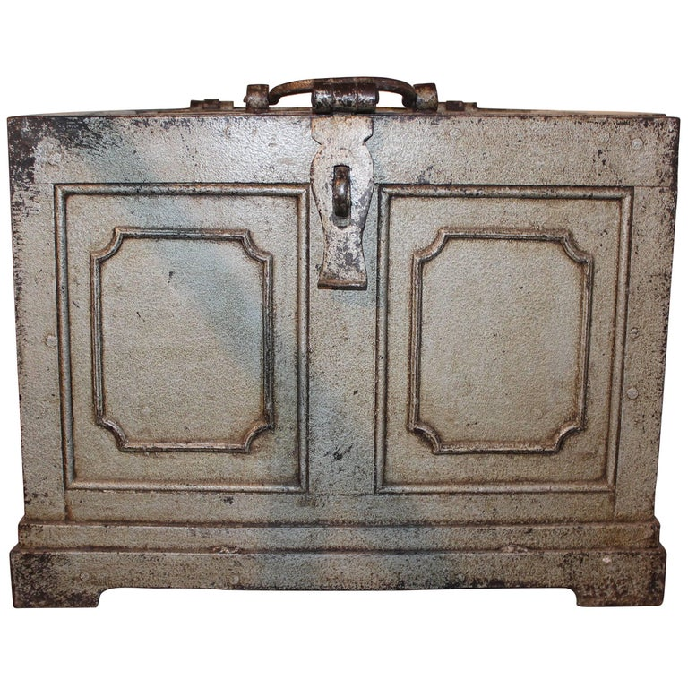 Antique money box chest for sale at 1stdibs for Home money box
