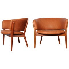 Pair of Lounge Chairs by Nanna Ditzel