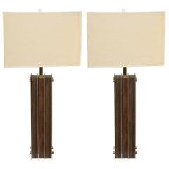 """Pair of """"Laurel Lighting"""" Lamps"""