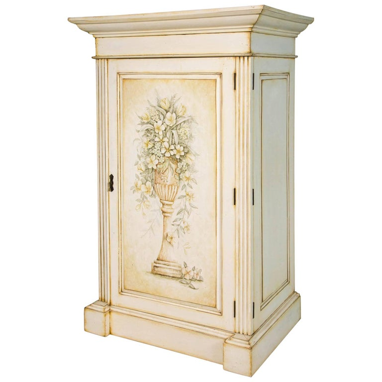 French Hand-Painted Cabinet 1