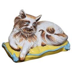 Italian Terra Cotta Figure of a Cat
