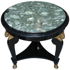 Greco - Roman Style Mid-Century Center Table