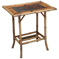 19th Century English Bamboo Table