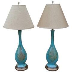 Ceramic Glazed Table Lamps
