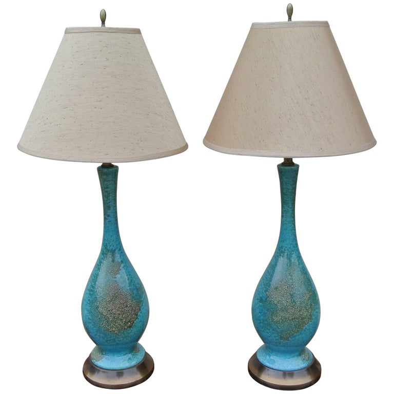 Ceramic Glazed Table Lamps