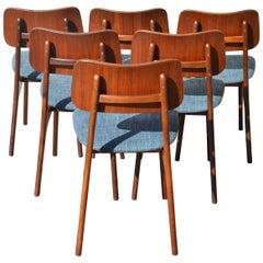 Set of Six Teak Dining Chairs by Arne Hovmand-Olsen