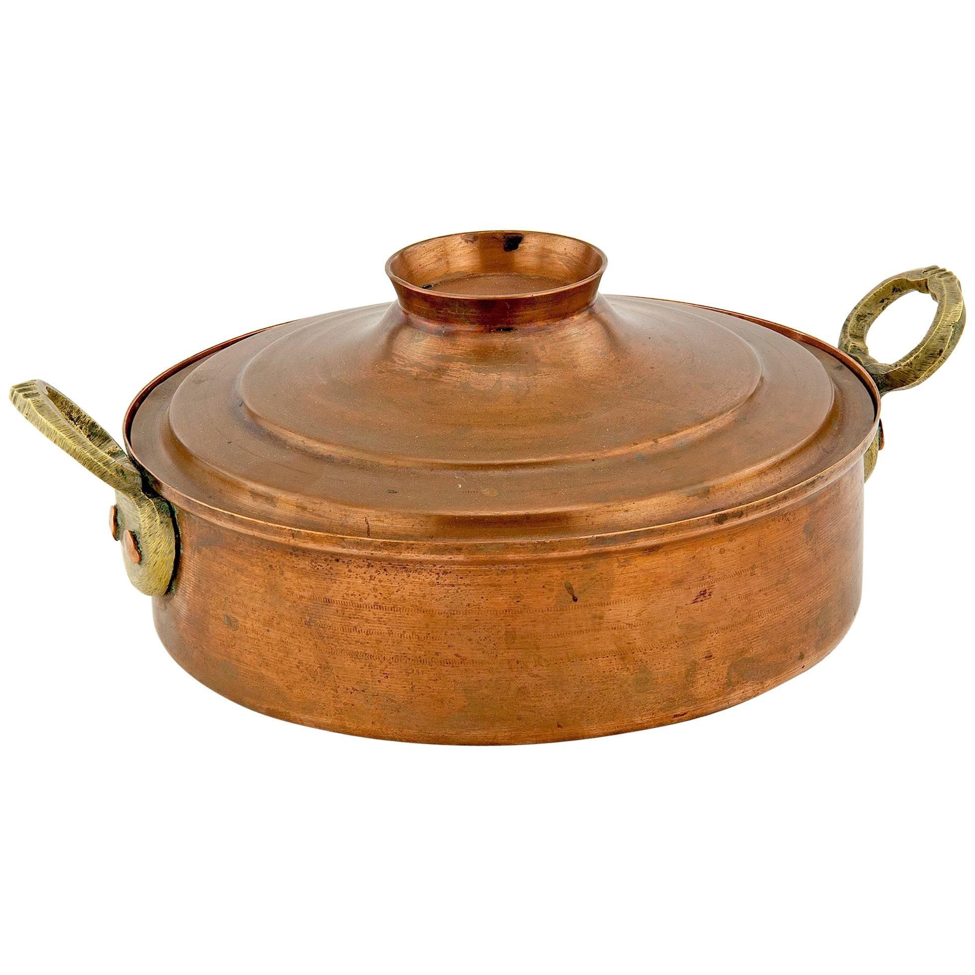 Copper Centrepiece  / Vide-Poche