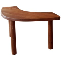 Table Pierre Chapo T 22 B in French Elm, 1971