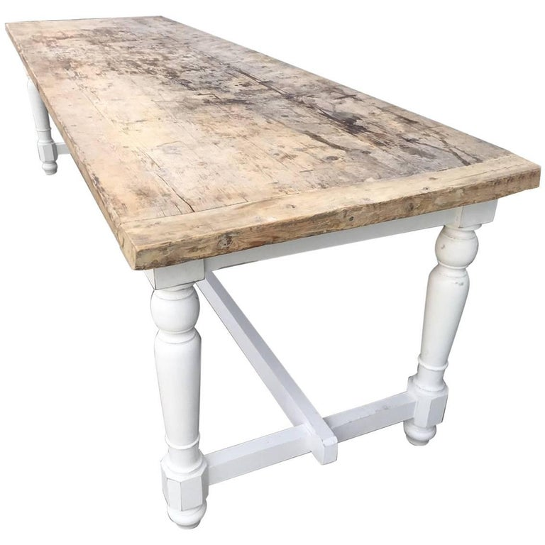 Beautiful Antique French Farmhouse Table At 1stdibs