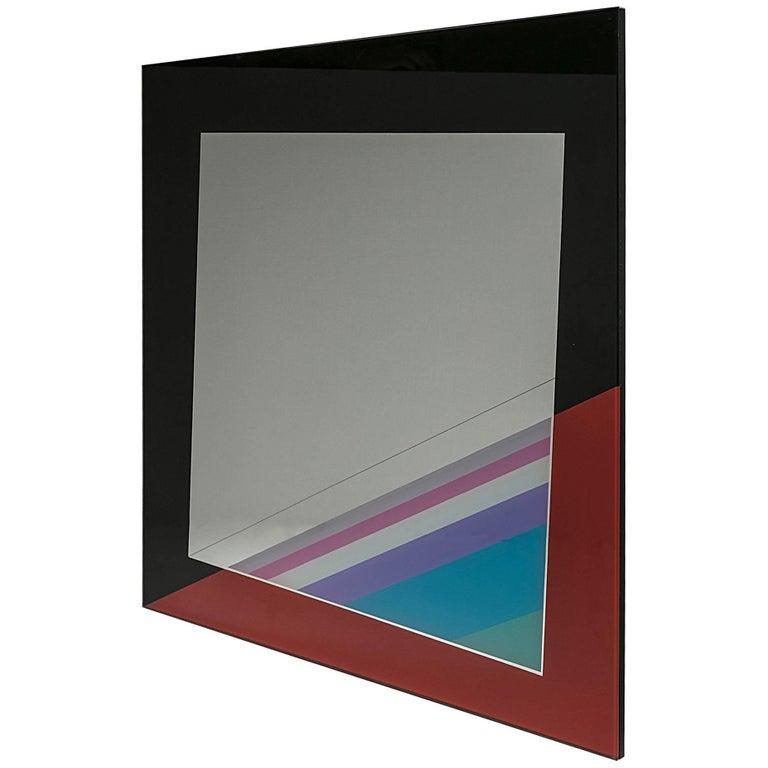 Wall Mirror by Eugenio Carmi for Acerbis