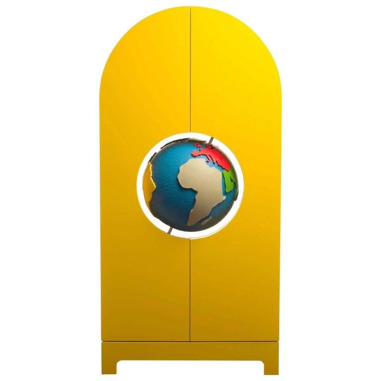 "Limited Edition Gufram ""Globe"" Cabinet by Studio Job"