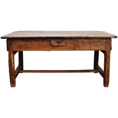 Early 19th Century Farm Dinning Table 1820 Made of Ash Tree