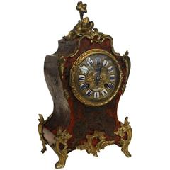 19th Century Boulle and Ormolu French Mantel Clock