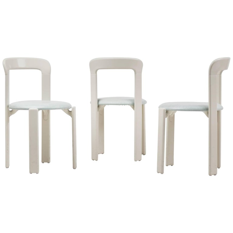 Set of Three Rey Chairs by Bruno Rey 1