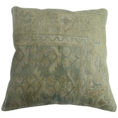 Shabby Chic Green Turkish Pillow