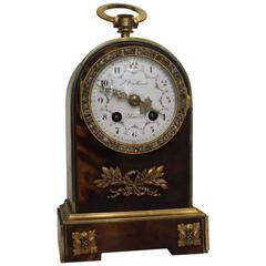Late 19th Century Miniature French Mantel Clock