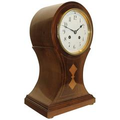 20th Century French, Japy Freres, Balloon Mantel Clock