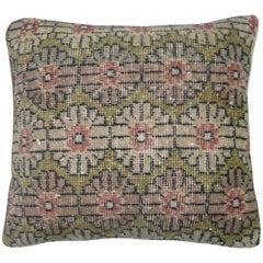 Green Turkish Deco Pillow
