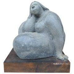 """Woman"" Sculpture by Eduardo Valentin"