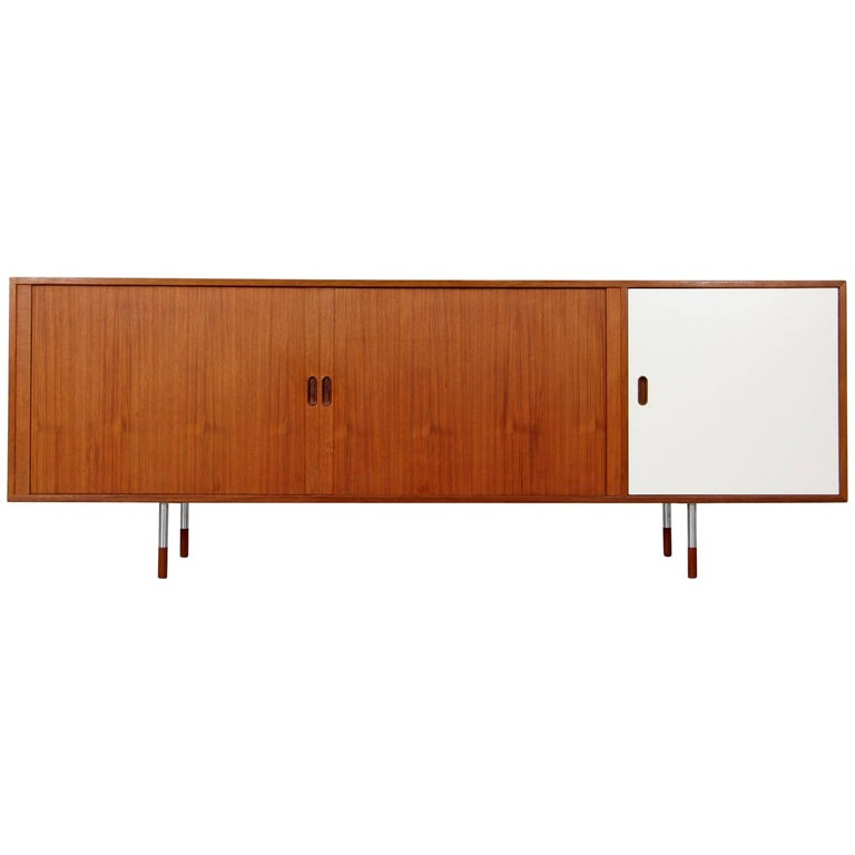 "Teak Sideboard ""Os36"" by Arne Vodder for Sibast, Denmark, 1960s"