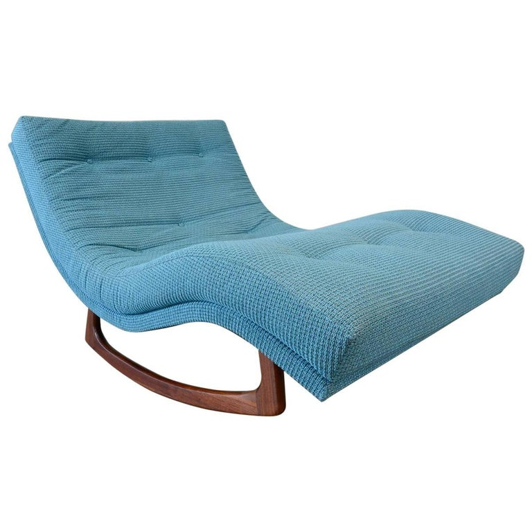 Adrian pearsall rocking chaise longue at 1stdibs for Adrian pearsall rocking chaise