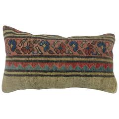 Bolster Pillow from a Persian Serab Rug