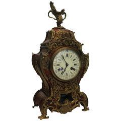 19th Century French Rococo Style Mantel Clock