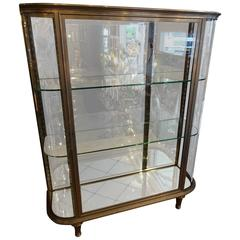 Late 19th Century Iron Display Cabinet Vitrine