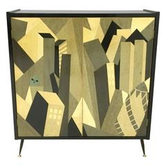 """Cabinet """"London"""" Designed by Enzio Wenk, Italy, 2016"""