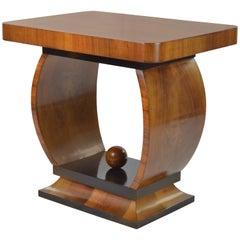 20th Century Art Deco Small Sofa Table