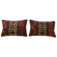 Connoisseur Antique Persian Bidjar Pillows