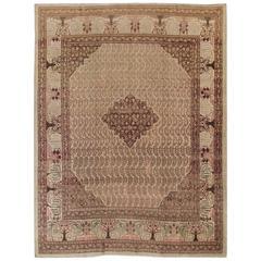 19th Century Persian Tabriz Carpet