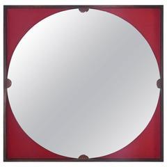 Wall Mirror Produced by Roma, Cantù, Italy, 1960s