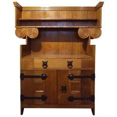 ARTS AND CRAFTS Oak Dresser