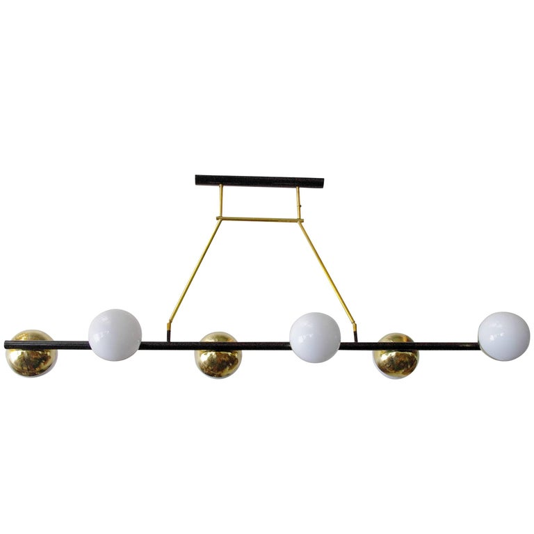 Viale Murano Globes Chandeliers For Sale