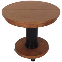 Late 19th Century Biedermeier Pedestal Centre Table