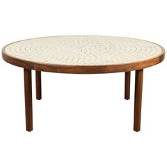 White Studio Tile Coffee Table by Martz