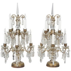 Pair of French Louis XVI Style Girandoles