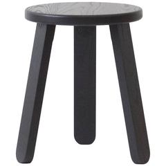 Solid Wood Three-Legged Stool
